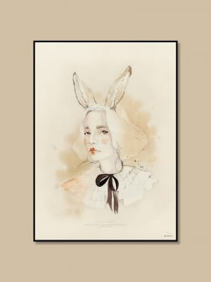 Art_poster_print_watercolor_woman_Mrs_Mighetto