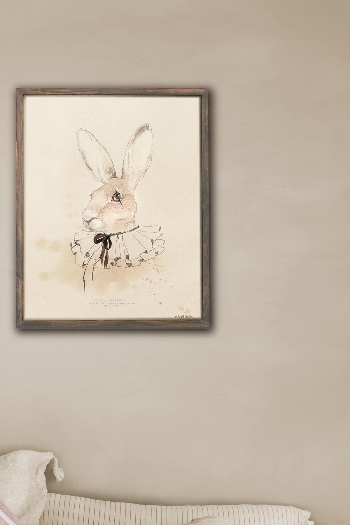 Art_poster_print_art_watercolor_rabbit_Mrs_Mighetto