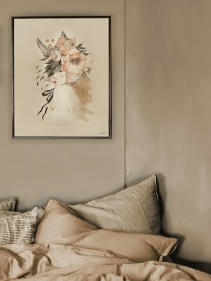 Art_poster_print_watercolor_woman_flowers_Mrs_Mighetto
