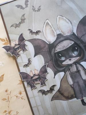 Poster_for_kidsroom_bats_hallosween_bat