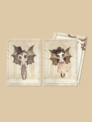 Halloween_cards_bats_vampires_Mrs_Mighetto