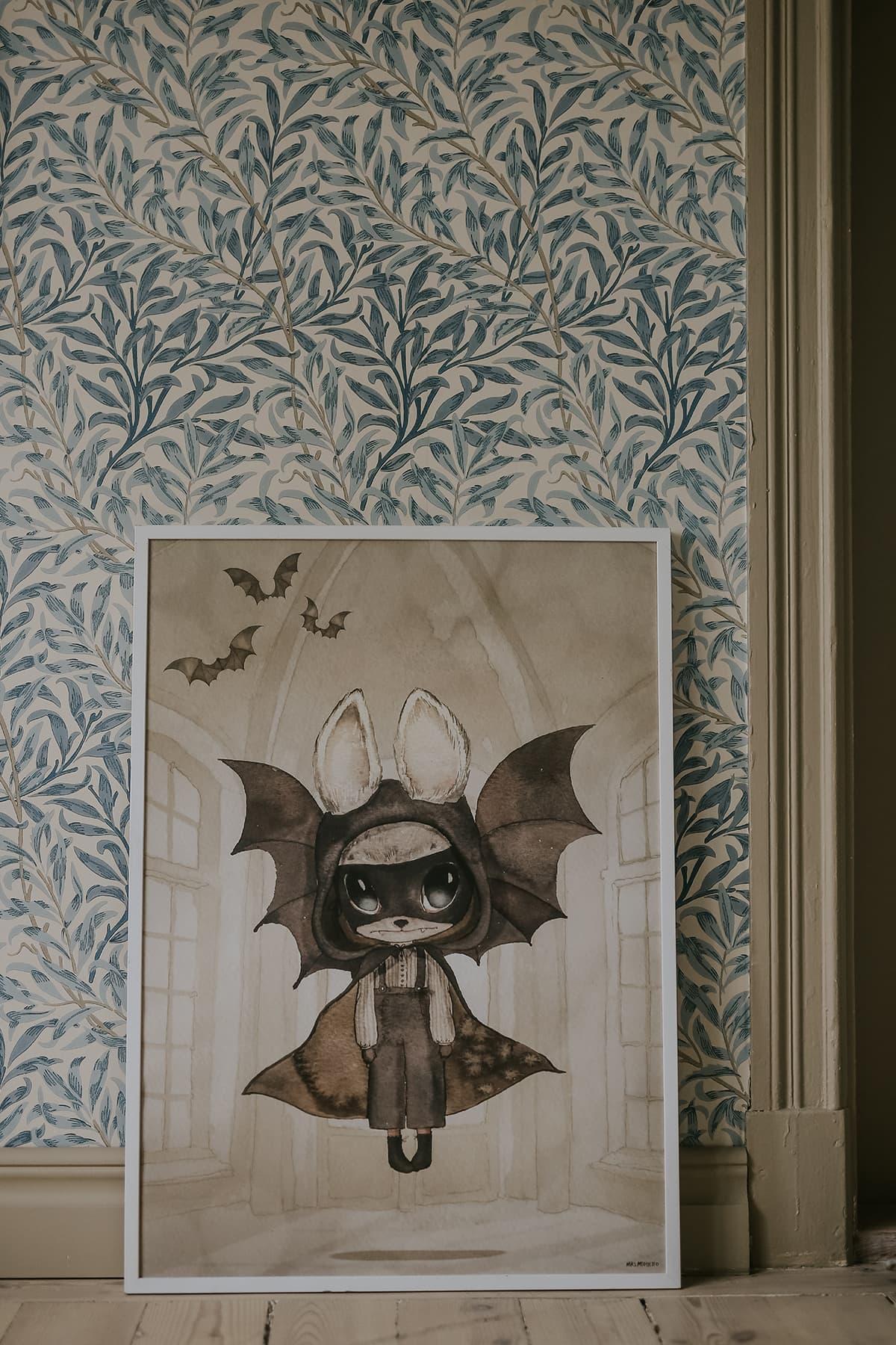 Bat_kidsposter_dekoration_kidsroom_mrsmighetto