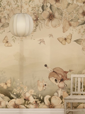 floral_wallpaper_kids_room_Mrs_Mighetto