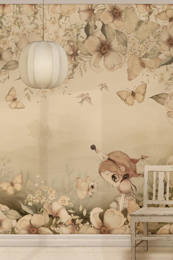 blommig_barntapet_Mrs_Mighetto