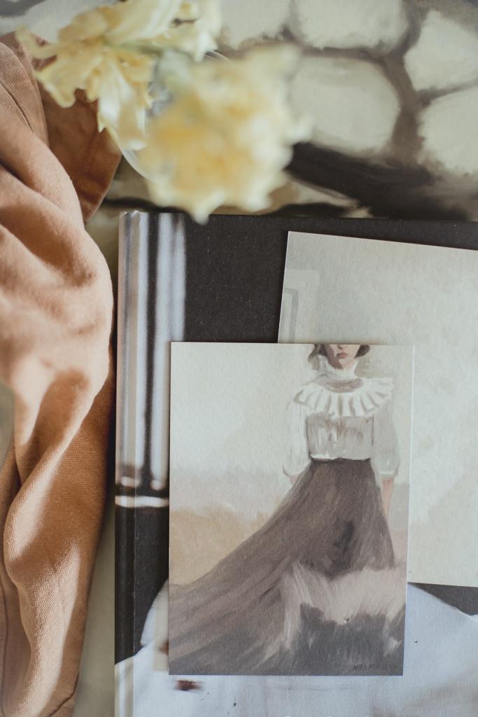 Cards_art_print_Lady_Almond_women_Mrs_Mighetto