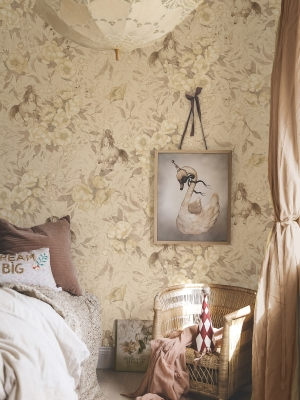 wallpaper_horses_flowers_kids_room_Mrs_Mighetto